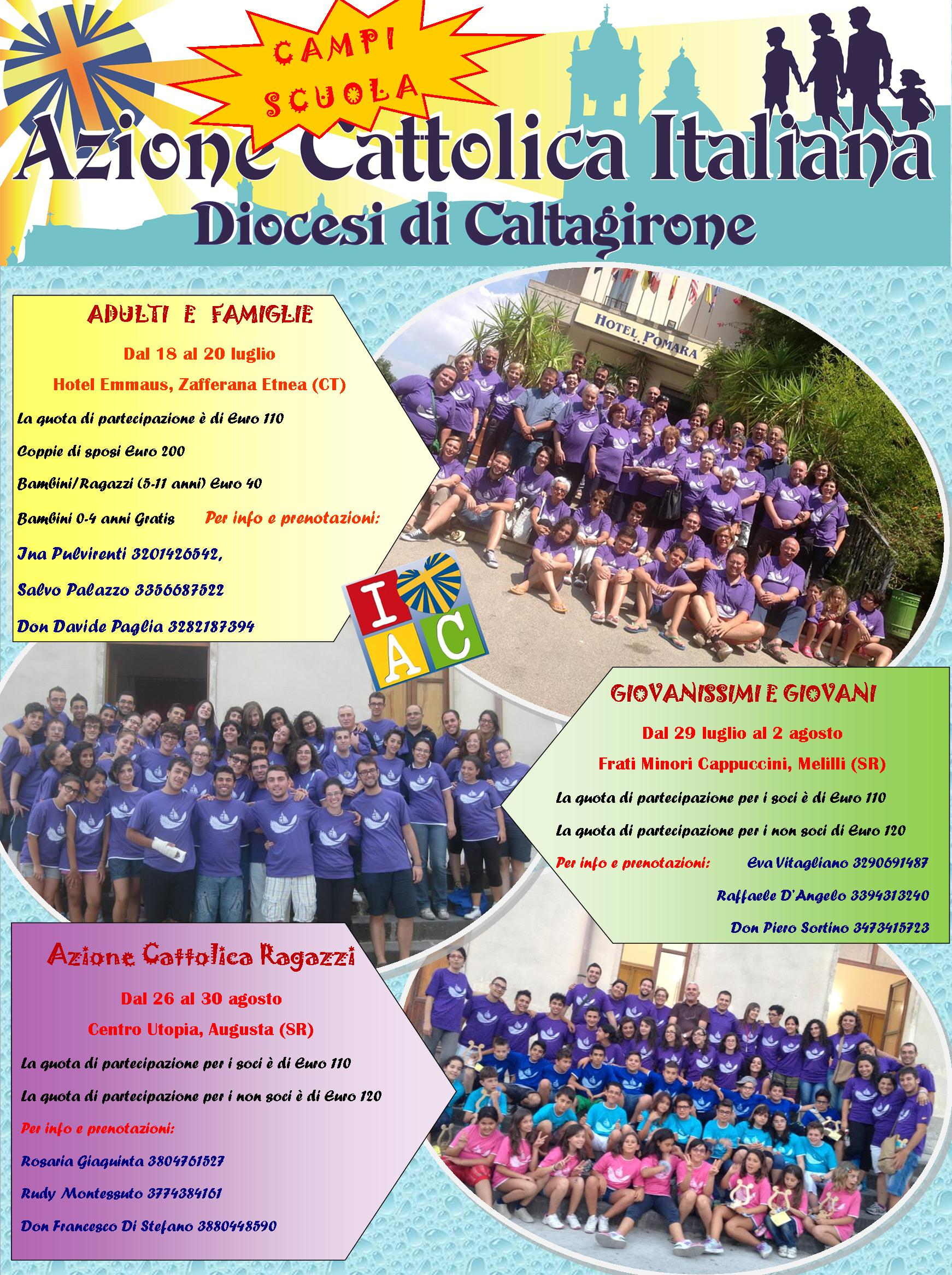 locandina campi scuola 2014